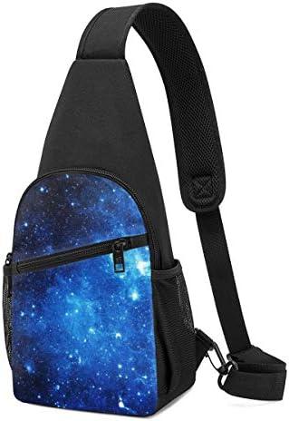 星空 斜め掛け ボディ肩掛け ショルダーバッグ ワンショルダーバッグ メンズ 多機能レジャーバックパック 軽量 大容量