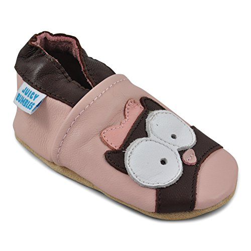 - Beautiful Soft Leather Baby Shoes - Crib Shoes with Suede Soles