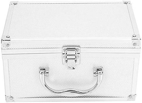 Caja herramientas Herramientas caso del organizador del viaje aleación de aluminio de la caja de herramientas caja de la pantalla portátil Instrumentación Caja maleta de equipaje caja de herramientas: Amazon.es: Hogar