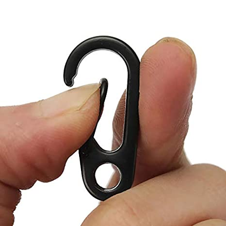 GIlH EDC Gadget llavero mosquetón clip Split anillo clip ...