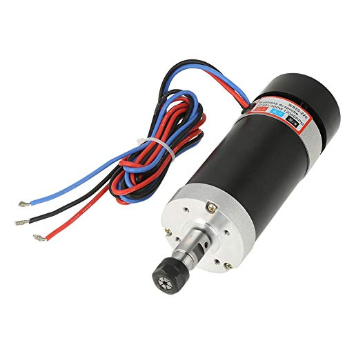 - DC Spindle Motor, ER11 48V 500W High Speed Air Cooling Brushless DC Spindle Motor for CNC
