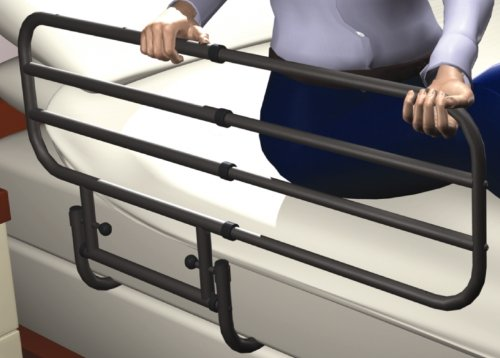 Rehastage Pivot Rail Bettgriff Bettgitter Einstiegshilfe Verstellbar
