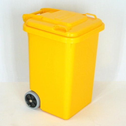 PLASTIC TRASH CAN 45L(イエロー) 100-146 B000O67H92