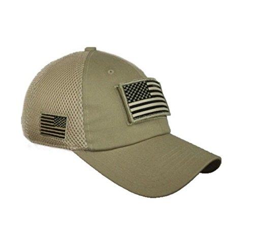 90210 Wholesale USA American Flag Baseball Cap Patch Trucker Army CAMO Hat Hunting