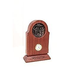 Classic Clock Desk Modern Mantel Table Clocks Decorative Table Clocks Antique Desk Clock Office Desk Clocks Wooden Desk Clock Brown