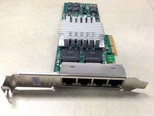 IBM 5717 4 Port 10/100/1000 Base-tx Adapter - 10N8556, 46Y3512 (Renewed)