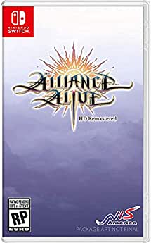 The Alliance Alive HD Remastered - Nintendo Switch