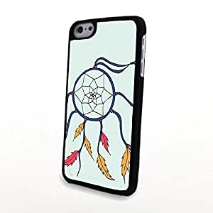 linJUN FENGGeneric Unique Dream Catcher PC Phone Cases fit for iphone 4/4s Cases Hard Shell Matte Cover Plastic Back Carrying Case Light and Thin