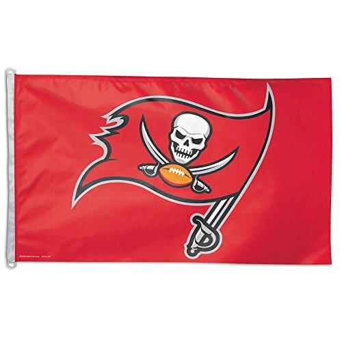 NFL Tampa Bay Buccaneers Flag 3x5 Orange Logo TB Bucs Large