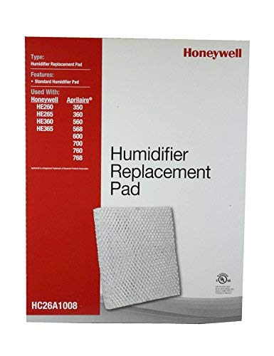 Honeywell HC26A1008/U Pad for He200, He250, He260, He265, He300, He360 and He365 Humidifiers ()