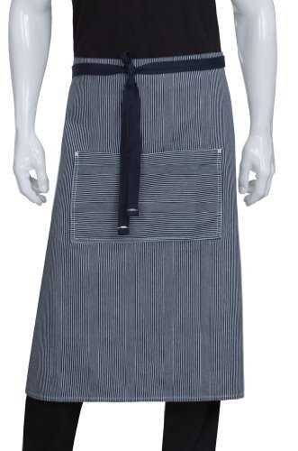 Chef Works AW051-IBL-0 Portland Bistro Apron, Indigo Blue by Chef Works