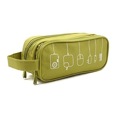 HONSKY Medium Water Repellent Travel Electronics Accessories Organizer / Cosmetic Bag / Makeup Toiletry case