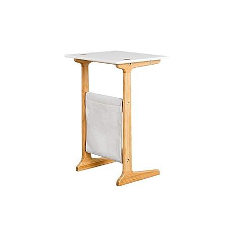 Mesa final pequeña Inicio del escritorio de oficina, de madera ...