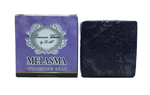 MELASMA WHITENING SOAP BAR FOR FACE 50 G [TRAVEL SIZE] Made in Thailand [GET FREE FOAMING NET] by Madam A