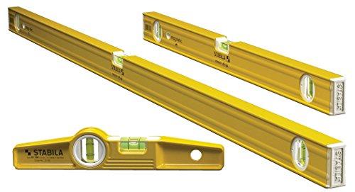 (Stabila 29924-3 Level Magnetic Pro-Set includes 48