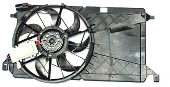 Replacement Mazda Fan Shroud - TYC 621270 Mazda Mazda3 Replacement Radiator/Condenser Cooling Fan Assembly