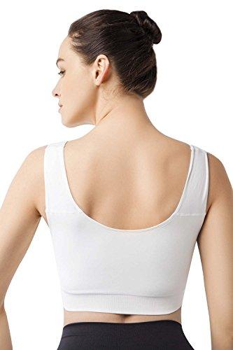 MD - Sujetador premamá y de lactancia - para mujer blanco