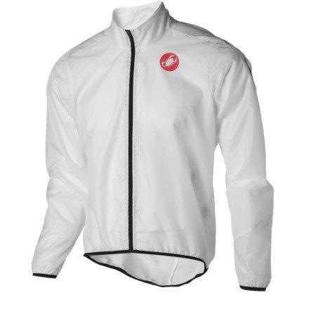 Castelli Squadra Long Jacket White, XL - Men's