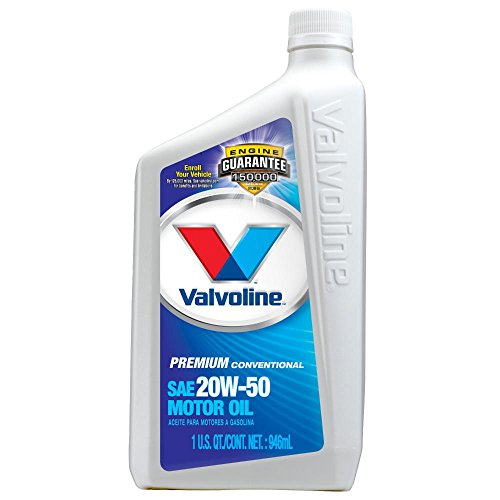 Valvoline 20w 50 premium conventional motor oil 1qt case for Valvoline motor oil coupons