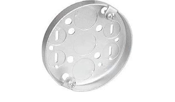 1//2-Inch Bottom Knockouts 4-Inch Round Ceiling Pan Hubbell-Raco 8293 1//2-Inch Deep