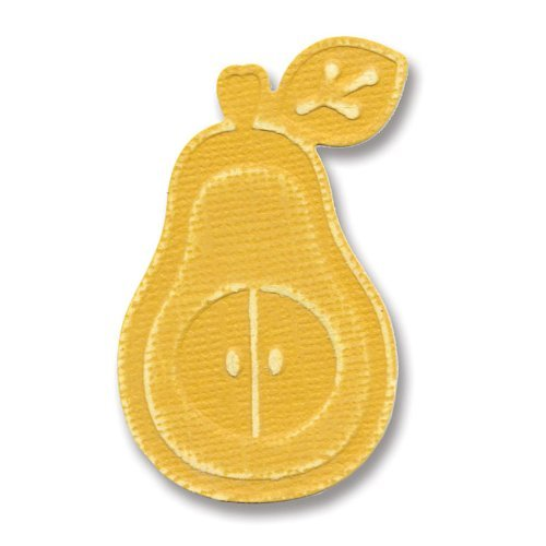 Sizzix 657238 Embosslits Die, Pear by Basic Grey