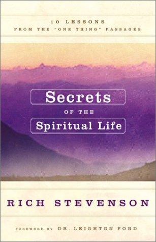Secrets of the Spiritual Life PDF ePub fb2 ebook