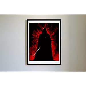 #5 Starwars Darth Vader Art Print – Unframed, Prints, Poster, Artwork (16×20)