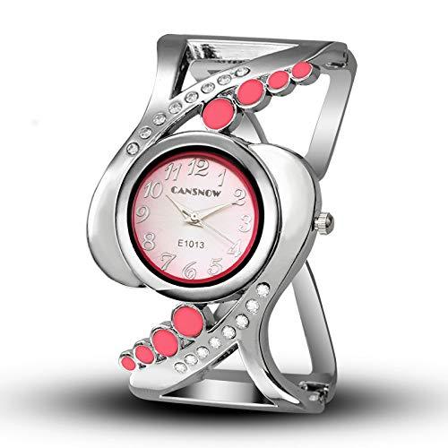 HWCOO Hermoso Relojes de Pulsera Reloj de la Tabla Femenina Estudiantes de Moda Reloj Pulsera de