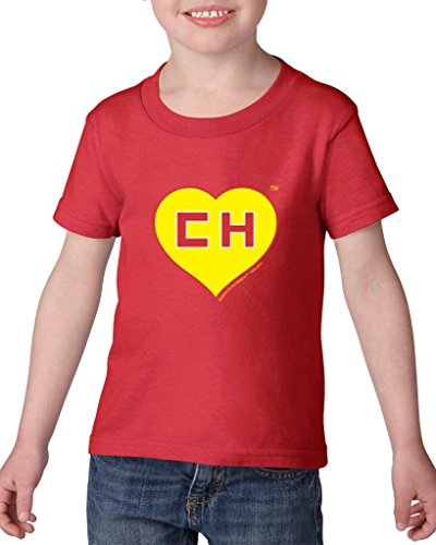 Price comparison product image Blue Tees El Chapulin Colorado Television Fashion People Best Friend Couples Gifts Toddler Kids T-Shirt Tee Clothing 5T Red