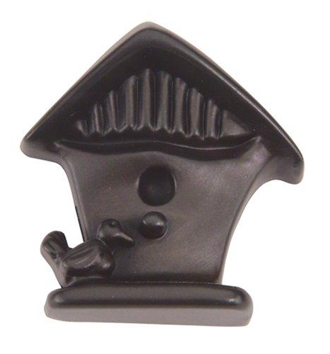 Birdhouse Cabinet Knob - Atlas Homewares 189-O 1-1/2-Inch Birdhouse Knob, Aged Bronze