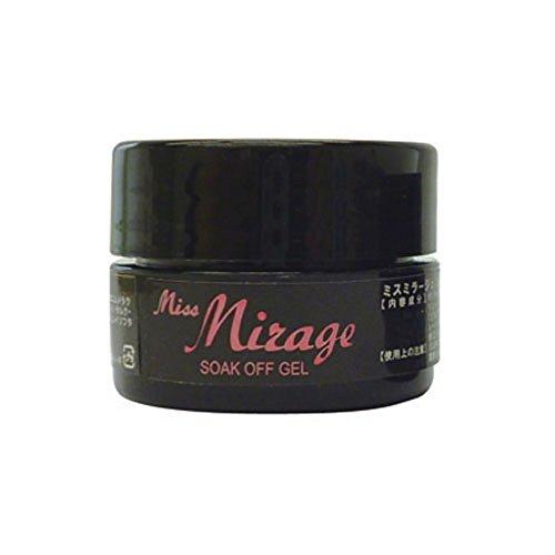 痛み休み十年Miss Mirage カラージェル G1S Lオーロラクリア 2.5g ソークオフジェル UV/LED対応
