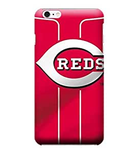 MLB-Cincinnati Reds Skin Tough Phone Case Covers,Stylish Protective Covers Compatible For iphone 6(4.7) by ruishername
