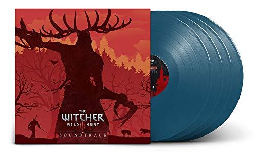 The Witcher 3: Wild Hunt Soundtrack - Exclusive Limited Edition Blue 4x LP Vinyl