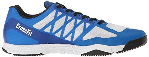 Reebok Heren Crossfit Speed Tr Crosstrainer Schoen Wit / Zwart / Geweldig Blauw / Tin