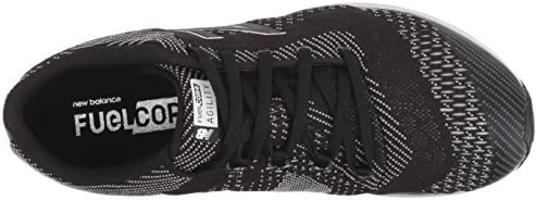New Balance Women's Agility V2 FuelCore Cross Trainer, Black, 12 B US