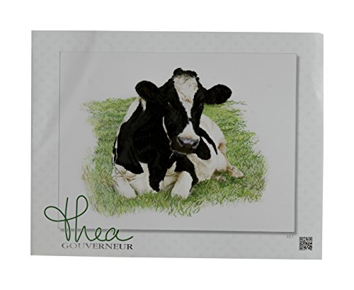 Thea Gouverneur 16 Count Counted Cross Stitch Kit, 23-5/8 by 17-3/4-Inch, Cow on ()