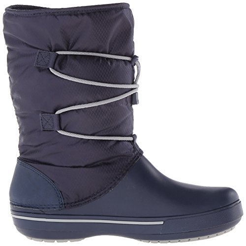 Donna W Cband 5 Grey Cinch Ii Boot Crocs light navy Stivali Blu C0wqRXRn