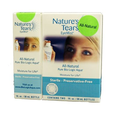 Natures larmes EyeMist - All Natural Mega Set Value (Pack de 3)