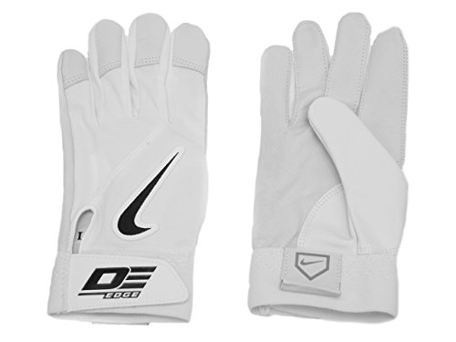 Amazon.com: Nike GB0332 Diamond Elite Edge II Batting Gloves - Adult -  White/White: Clothing