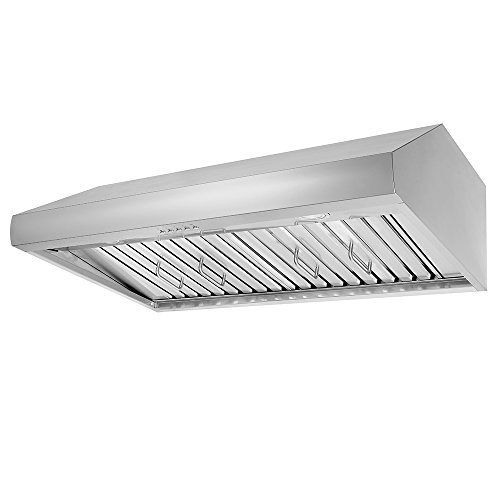 Thor Kitchen 48″ Under Cabinet Range Hood 900CFM 3-Speed Stainless Steel With 3 Light Blubs HRH4806U