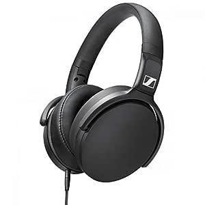 Sennheiser HD 400S Over-Ear Headphone With Smart Remote - Black (Pack of 1)
