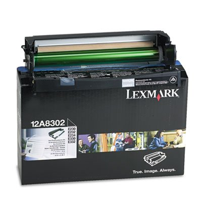 Photo Conductor Kit, F/12A8302, 30,000 Pg Yld,Black, Sold as 1 Each by Lexmark