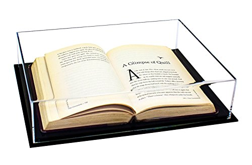Deluxe Clear Acrylic Book Display Case (A029)