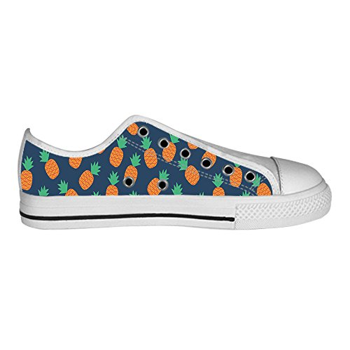 Dalliy Ananas Cartoon Mens Canvas shoes Schuhe Lace-up High-top Sneakers Segeltuchschuhe Leinwand-Schuh-Turnschuhe D