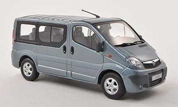 Super Opel Vivaro Bus, met.-blau-grau , Modellauto, Fertigmodell DZ-32