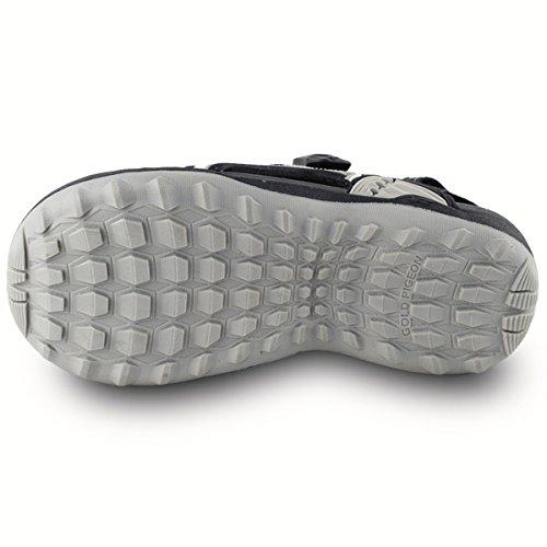 Gold Taube Schuhe GP5937 Männer Frauen Snap Lock Sport Wasser Schuhe Sandalen: Einfacher Magnetverschluss X.7643 Schwarz (Diese besondere Farbe ist groß, bitte 1 kleiner bestellen)