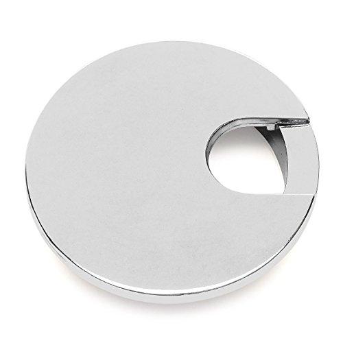 1.57 Smaller Opening 40mm - Metal Desk Grommet 3 Pack Brushed Bronze