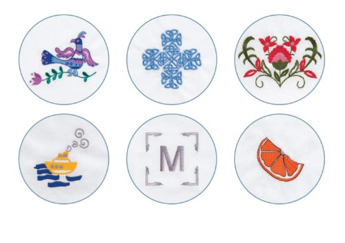 037431882943 - SINGER Futura XL-400 Computerized Sewing and Embroidery Machine with 18.5-by-11-Inch Multihoop Capability Including 2 Hoops, 125 Embroidery Designs, 5 Monogramming Fonts carousel main 9