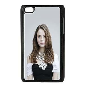 Kaya Scodelario iPod Touch 4 Case Black Exquisite gift (SA_448416)