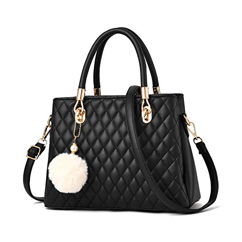 Womens Handbags and Purses Top Handle Bags Leather Satchel Shoulder Bag